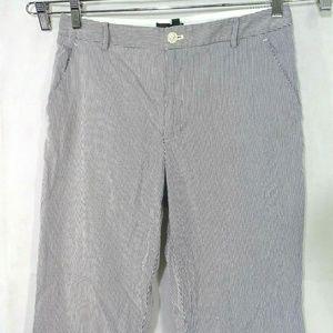 Lauren Ralph Lauren Seersucker Pants Women Size 12